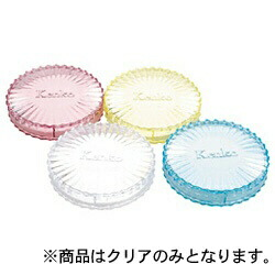 ケンコー・トキナーKenkoTokinaフィルター丸型プラスチックケース(クリアー・4号)
