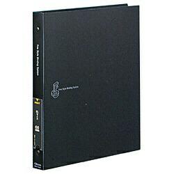 チクマChikumaフリースタイルバインディングシステム(A4・20枚収納/メタリックダークグレー)05499-3[FSA4]