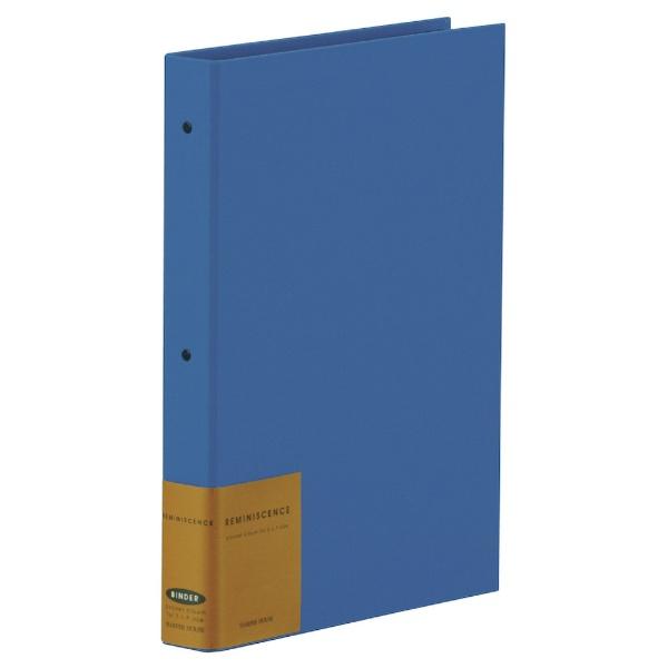 セキセイSEKISEIレミニッセンスポケットアルバム(Lサイズ120枚収納/ブルー)XP-2102-BU[XP2102]