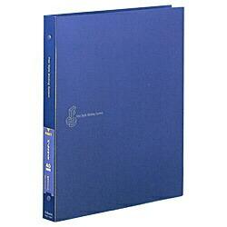 チクマChikumaフリースタイルバインディングシステム(キャビネ40枚収納/メタリックブルー)05505-1[FSキャビネ]