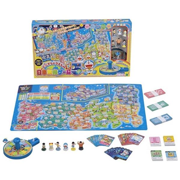 エポック社EPOCHどこでもドラえもん日本旅行ゲーム5[人気ゲーム1202][クリスマスプレゼントおもちゃ]
