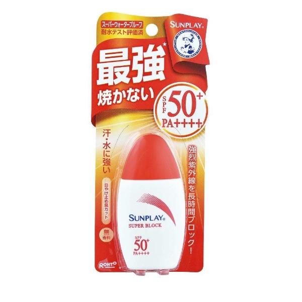 ロート製薬ROHTOMentholatum(メンソレータム)サンプレイスーパーブロック(30g)[日焼け止め]