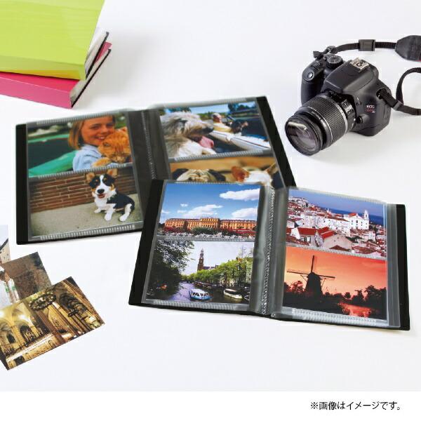 セキセイSEKISEIKP-80Mフォトアルバム<高透明>Lサイズ80枚ブラック[KP80M]