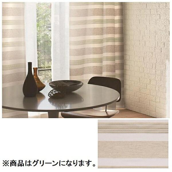 スミノエSUMINOEドレープカーテンレユール(100×178cm/グリーン)【日本製】[G1009100X178]