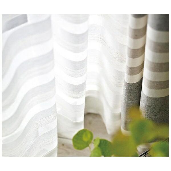 スミノエSUMINOEレースカーテンクーシュ(100×176cm/ナチュラルホワイト)【日本製】[G1028100X176]