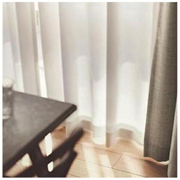 スミノエSUMINOEレースカーテンエール(100×198cm/ナチュラルホワイト)【日本製】[G1031100X198]
