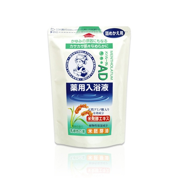 ロート製薬ROHTOMentholatum(メンソレータム)AD薬用入浴剤森林の香り(つめかえ用)[入浴剤]