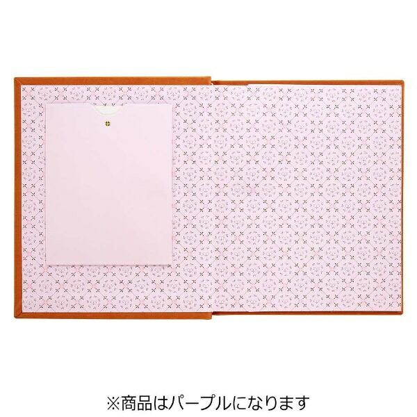 セキセイSEKISEIフレームアルバム(パープル)XP-4700[XP4700]