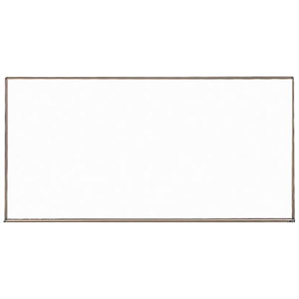 トラスコ中山スチール製ホワイトボード白暗線ブロンズ900X1200WGH112SA《※画像はイメージです。実際の商品とは異なります》