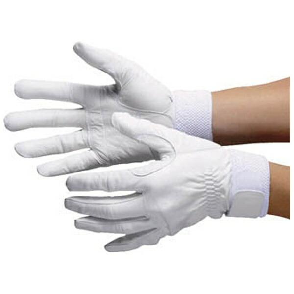 シモンSimon羊革手袋セイバーNo.75白M寸SAVERNO.75M