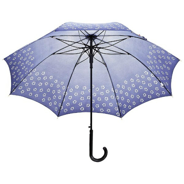 ウォーターフロントWaterfront【傘】レディース長傘花ぼかしサクラ骨60JPHBK-1L60-UJ(UV加工)60cm【色指定不可】[HBK1L60UJ]