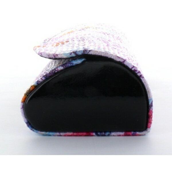 名古屋眼鏡セミハードメガネケース(花柄パープル)2932-03※このページは「パープル」のみの販売です。