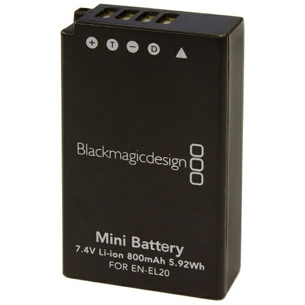 BlackmagicDesignブラックマジックデザインカメラPCC-バッテリー[カメラPCCバッテリー]