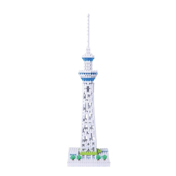 カワダKAWADAナノブロックNBH-91東京スカイツリー