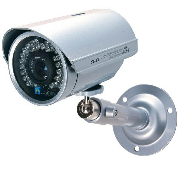 セレンSELEN【ビックカメラグループオリジナル】アナログ対応カラー監視カメラ【赤外線投光器内蔵・防水タイプ】SEC-G775