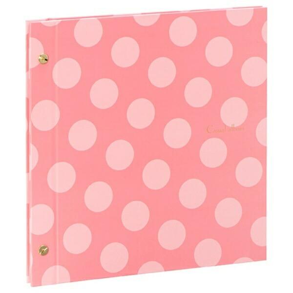 セキセイSEKISEIハーパーハウスカジュアルアルバム<ドット>フリー台紙タイプ(ピンク)XP-4310[XP4310]