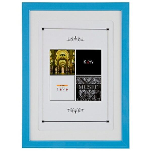 万丈VANJOHKATYカラーフレーム(A4判/ブルー)KT-A4-BL[KATYカラーフレームA4ブルー]
