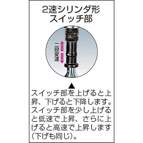キトーKITOセレクト電気チェーンブロック2速シリンダ60kg(SD)x1.8mEDC06SD
