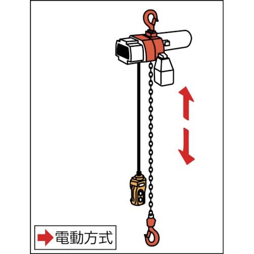 キトーKITOセレクト電気チェーンブロック1速100kg(S)x15mEDH10S