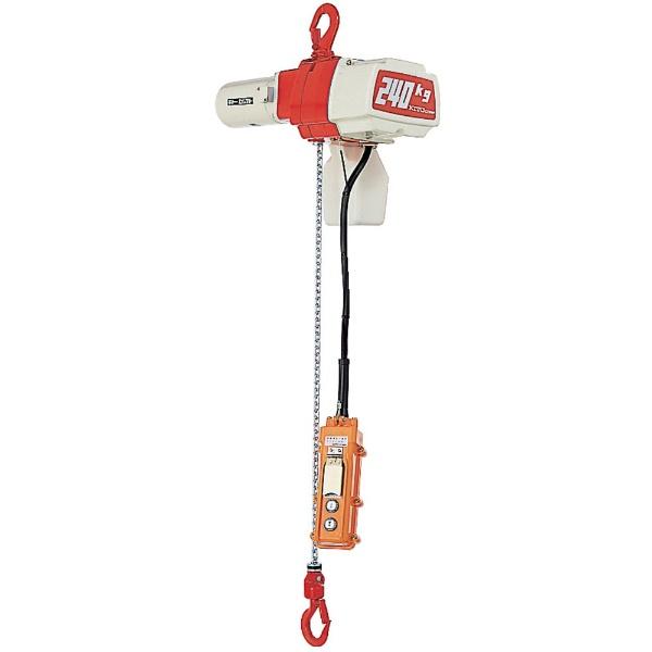 キトーKITOセレクト電気チェーンブロック2速選択60kg(SD)x3mED06SD
