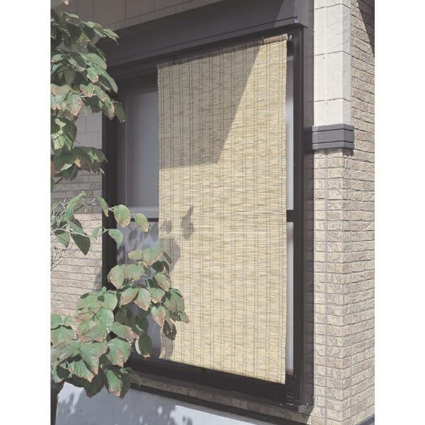 ワタナベ工業WatanabeIndustory高級天然すだれふる里小窓用ナチュラルFN7490
