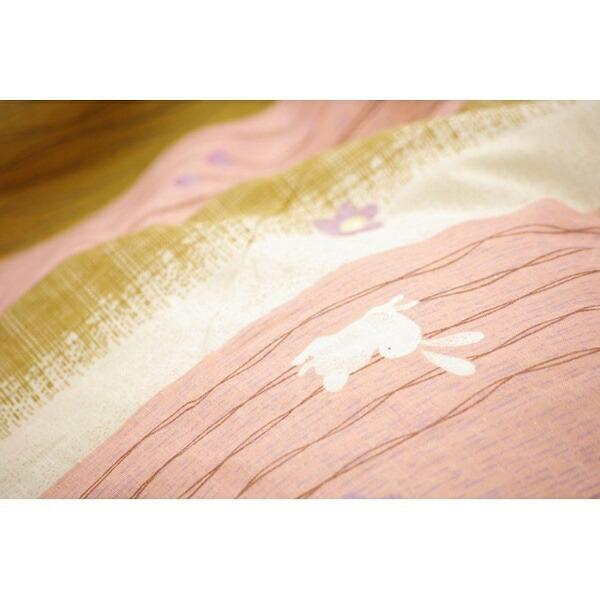 イケヒコIKEHIKO5052069こたつ布団カバー梅うさぎ[対応天板サイズ:約90×90cm/正方形][5052069]