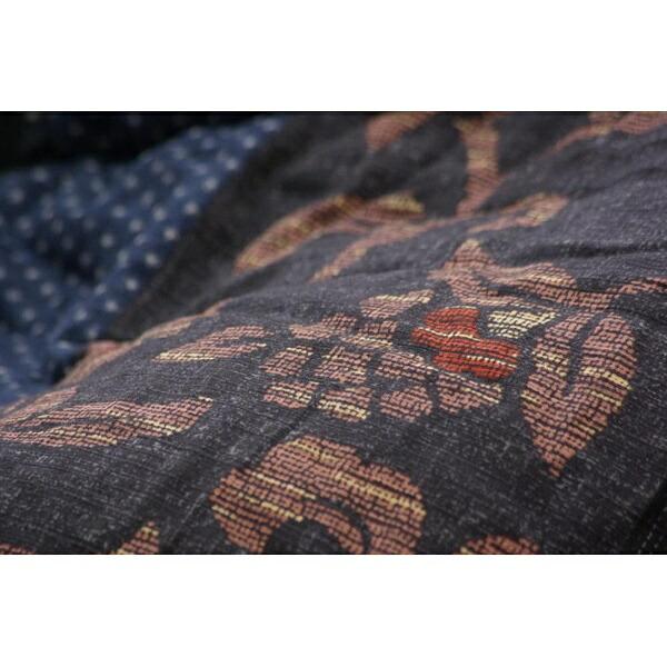 イケヒコIKEHIKO5934559こたつ布団万葉(マンヨウ)ブルー[対応天板サイズ:約90×135cm/長方形][5934559]