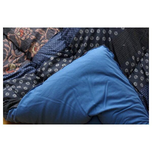 イケヒコIKEHIKO5934570こたつ布団万葉(マンヨウ)ブルー[対応天板サイズ:約90×210cm/長方形][5934570]