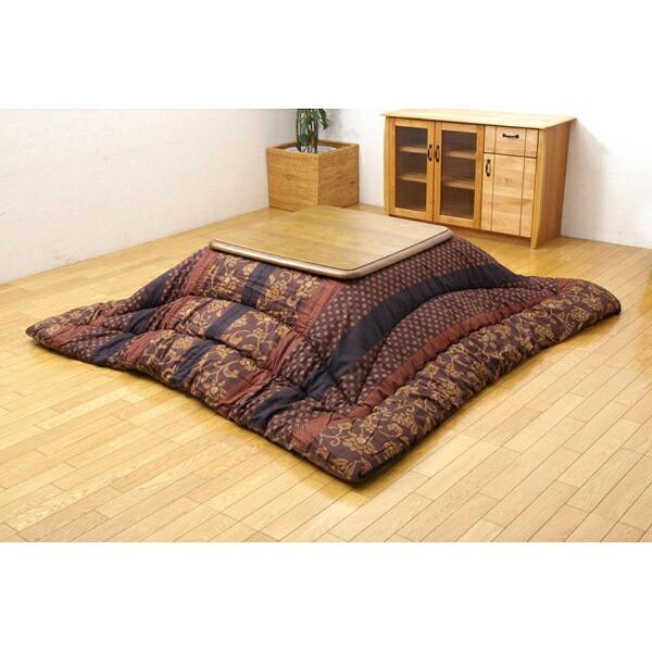 イケヒコIKEHIKO5934659こたつ布団万葉(マンヨウ)ブラウン[対応天板サイズ:約90×135cm/長方形][5934659]