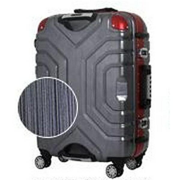 エスケープESCAPETSAロック搭載スーツケース(83L)B5225T-67ヘアラインブラック/レッド
