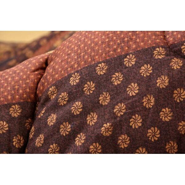 イケヒコIKEHIKO5934670こたつ布団万葉(マンヨウ)ブラウン[対応天板サイズ:約90×210cm/長方形][5934670]