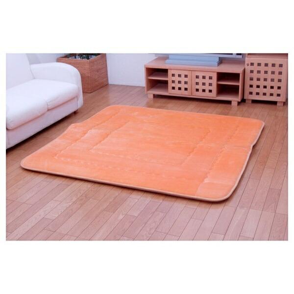 イケヒコIKEHIKOラグメロン(100×160cm/オレンジ)[生産完了品在庫限り][7006730]