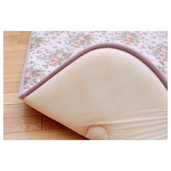 イケヒコIKEHIKOラグエリーゼ(190×190cm/アイボリー)[生産完了品在庫限り][7012409]