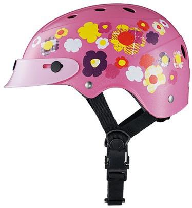 ブリヂストンBRIDGESTONE子供用ヘルメットcolon(ピンク/46〜52cm)CHCH4652
