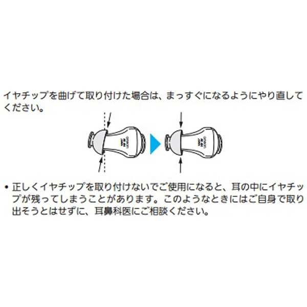 オムロンOMRONイヤチップLベント付き(AK-04、05、10、11共通)AK-DCP-L2個入[AKDCPL]