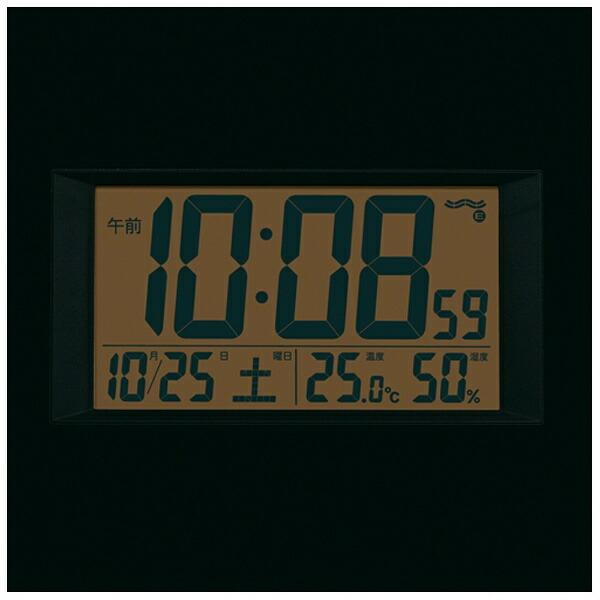 セイコーSEIKO掛け置き兼用時計薄金色パールSQ438G[電波自動受信機能有][SQ438G]