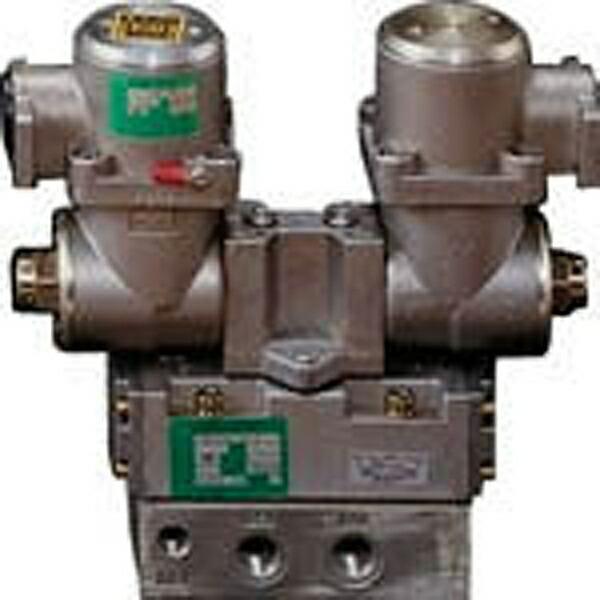 CKDシーケーディパイロット式防爆形5ポート弁4Fシリーズ(ダブルソレノイド)4F520E15TPAC200V