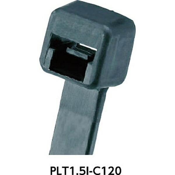 パンドウイットPANDUITソーラーグリップ太陽光パネル施工用ナイロン12結束バンドPLT2.5SC120(1袋100本)