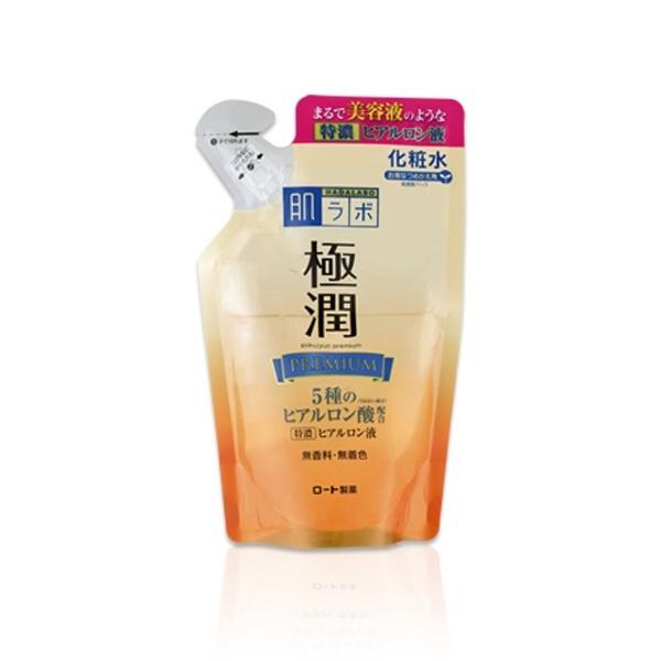 ロート製薬ROHTO肌研(ハダラボ)極潤プレミアムヒアルロン液(170ml)つめかえ用[化粧水]【wtcool】