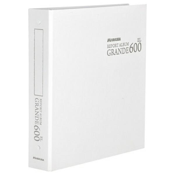 ハクバHAKUBAレポートALGRANDEEL600WT(ホワイト)