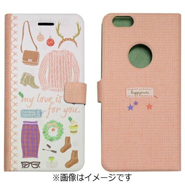ROAロアiPhone6s/6用手帳型WinterDailyDiaryGirlsDiaryHappymoriHM6636iP6S