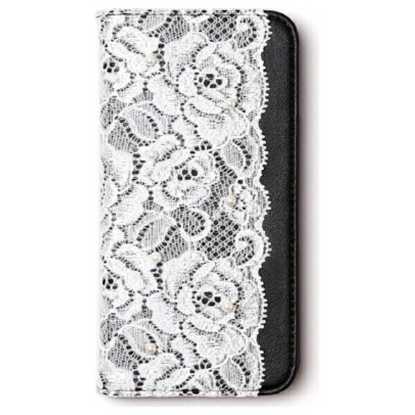 ROAロアiPhone6s/6用手帳型LacediaryブラックabbiAB6651iP6S