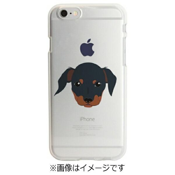 ROAロアiPhone6s/6用ソフトクリアケースドッグダックスフンドDparksDS6678iP6S