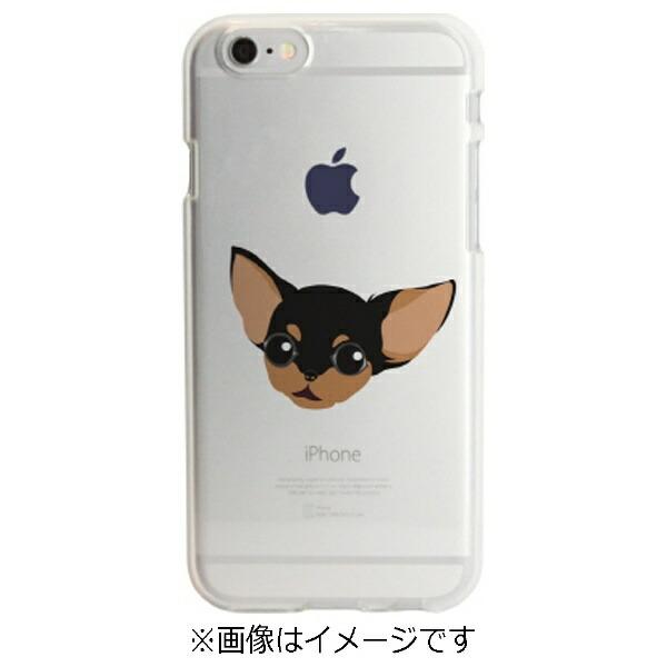 ROAロアiPhone6s/6用ソフトクリアケースドッグチワワDparksDS6683iP6S
