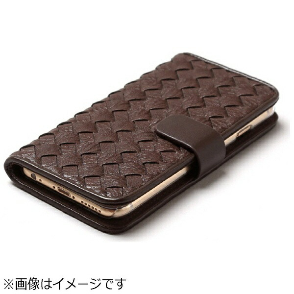 ROAロアiPhone6s/6用手帳型MeshDiaryダークブラウンZENUSZ9469i6S