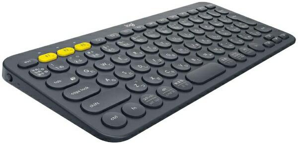 ロジクールLogicoolK380BKマルチデバイスキーボードブラック[Bluetooth/ワイヤレス][K380BK]