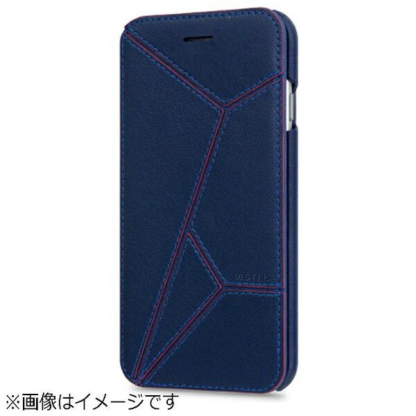 ROAロアiPhone6s/6用手帳型EVASIONDiaryネイビーSTI:LST6995iP6S