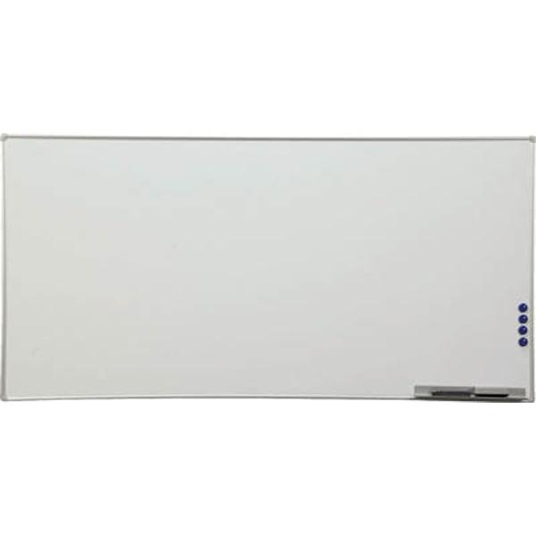 アイリスオーヤマIRISOHYAMAアルミホワイトボード1800×900×21AWB918