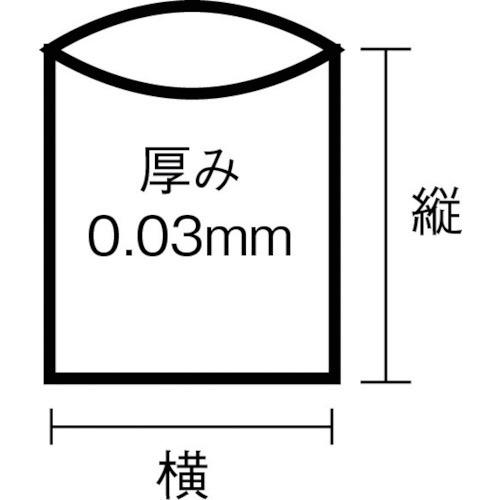 日本サニパックSANIPAKスタンダートポリ袋20号(0.03mm)L20(1袋100枚)