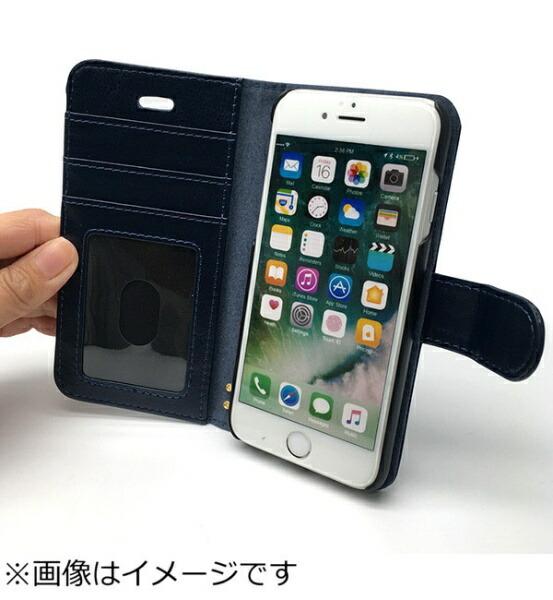 オズマOSMAiPhone6s/6用手帳型Notebooktypeノートブック型ケースネイビーBJSL-IP6NV[BJSLIP6NV]
